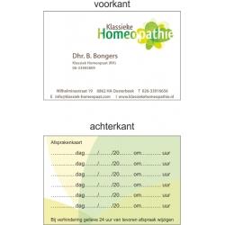 Visitekaartjes / Afspraakkaartjes