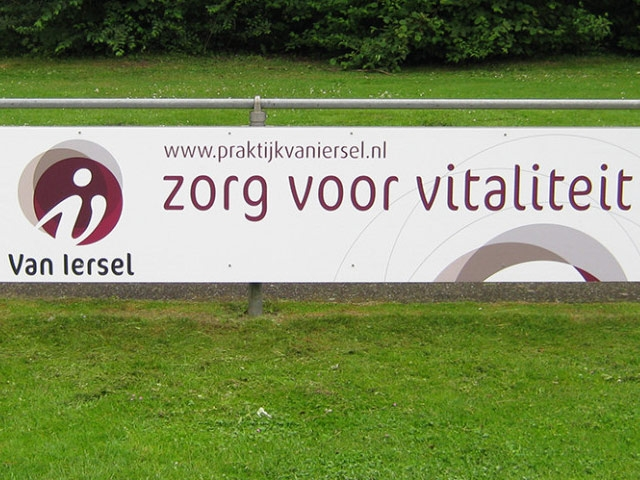 Reclamebord Van Iersel